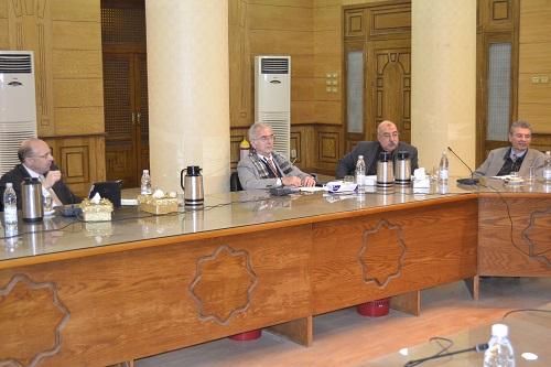 أجتماع اللجنة العليا لمتابعة التصنيفات الدولية للجامعات