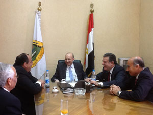 Prof. Dr. Adel Adawy, le Ministre de la Santé et la Population visitent Hôpitaux Universitaires Benha