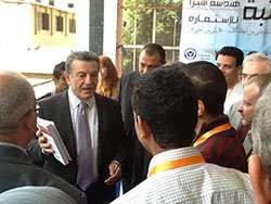 Prof. Dr. Ali Shams El Din visits the Faculty of Engineering in Shubra