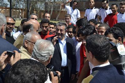 مهرجان الأنشطة المتكاملة بالمدن الجامعية بكفر سعد