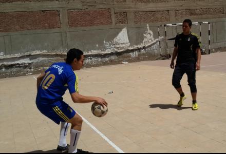 ضمن فاعليات مهرجان الأنشطة المتكاملة نتائج مباريات دوري خماسي كرة القدم