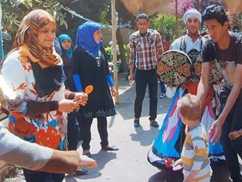 مبادرة مصر أولاً تنظم حفل يوم اليتيم بالجامعة