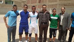المباراة النهائية في دوري خماسي كرة القدم بالجامعة