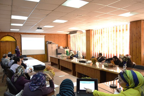"Workshop for Faculty Members on ""How to Activate Your Edu e-mail"""