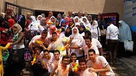 فاعليات مهرجان الأنشطة الطلابية