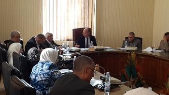 إجتماع مجلس شئون التعليم والطلاب