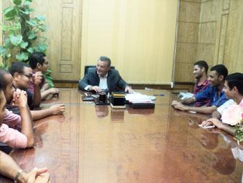 رئيس الجامعة: طفرة في الأنشطة والمبادرات الطلابية في العام الدراسي القادم