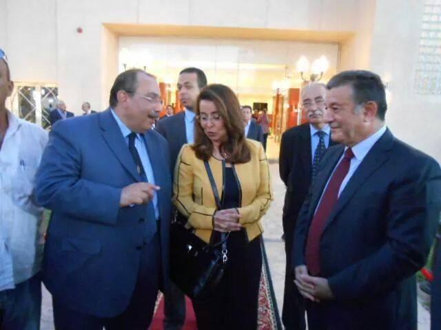 رئيس الجامعة يشارك في افتتاح مركز التنمية الشبابية والرياضية بشبرا الخيمة