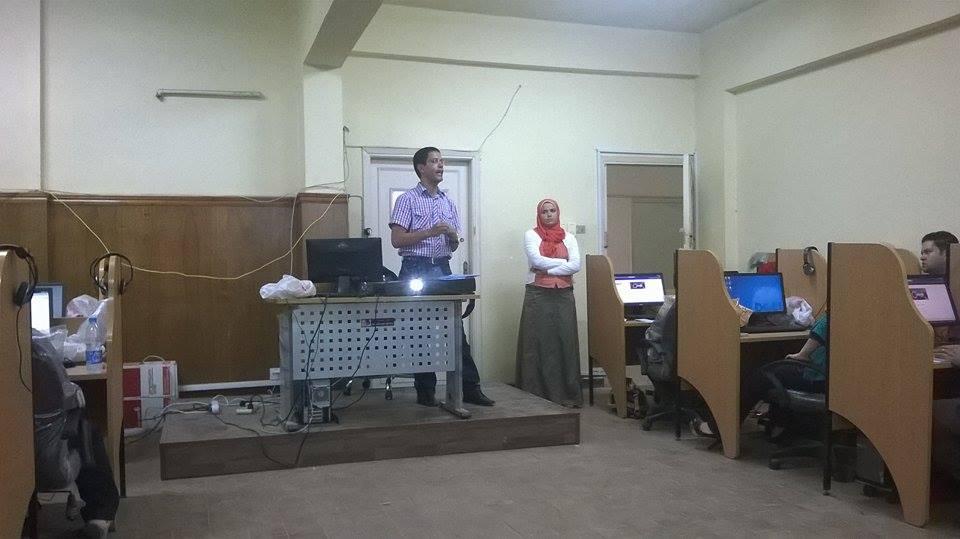 دورة تدريبية لإدارة المواقع الإلكترونية لهيئة التدريس بكلية الزراعة
