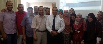 الدورة الثانية لإدارة صفحات أعضاء هيئة التدريس والمواقع الداعمة لها على موقع الجامعة