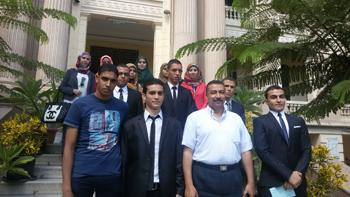 الرئيس السيسي يكرم أوائل الخريجين لجامعة بنها ضمن تكريم أوائل الجامعات المصرية