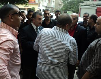 رئيس جامعة بنها يتابع حريق المستشفى الجامعى ويحظر التدخين داخل المنشات العامة تطبيقا للقانون