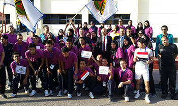 Benha University participates in the 5th Egyptian Universities' Olympics