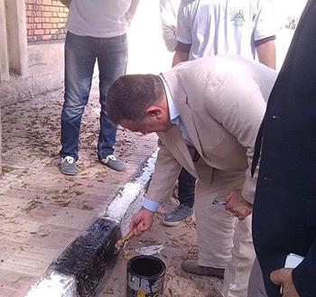 Prof. Dr. Ali Shams El Din participates in Public Hygiene Projec