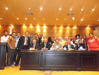 طلاب جامعة بنها بالمرحلة النهائية للمسابقة القومية الرابعة لاوائل الرواد بالجامعات المصرية