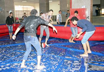 تلى ماتش ضمن فعاليات مهرجان كراكيب (2) على مستوى كليات الجامعه