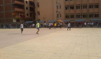 انتهاء الدورى الخماسي لكرة القدم بفوز كلية الاداب بالمركز الاول على مستوى الجامعة