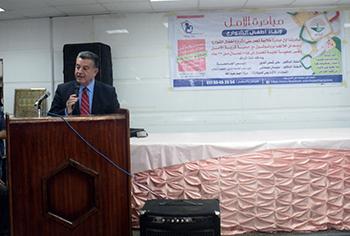 رئيس جامعة بنها: وزيرا الشباب والتضامن الإجتماعى يعدان مشروعا قوميا للأطفال الأولى بالرعاية