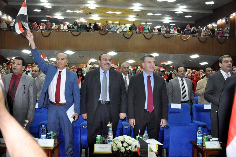 جامعة بنها تنظم إحتفالية وطنية كبرى تحت شعار