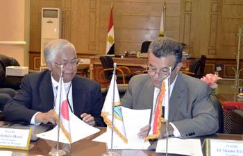 Scientific Cooperation between Benha University and the University of Miyazaki