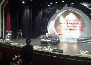 لقاء طلاب جامعة بنها مع فضلية الشيخ مفتى الديار المصرية