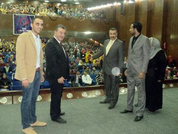 رئيس جامعة بنها في حفل مبادرة ميرف