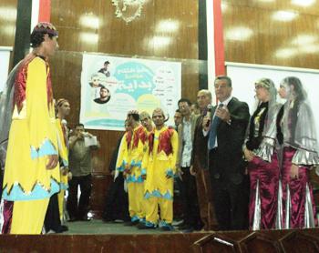 حفل افتتاح مبادرة بداية بجامعة بنها