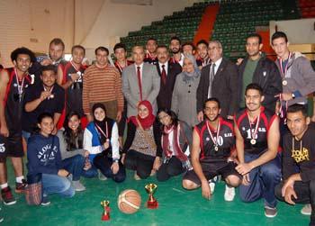 حفل ختام المهرجان الرياضي الثالث لأبطال الجامعات