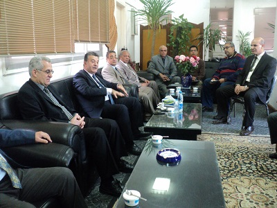 The University President visits the Faculty of Agriculture for the Quality Procedures