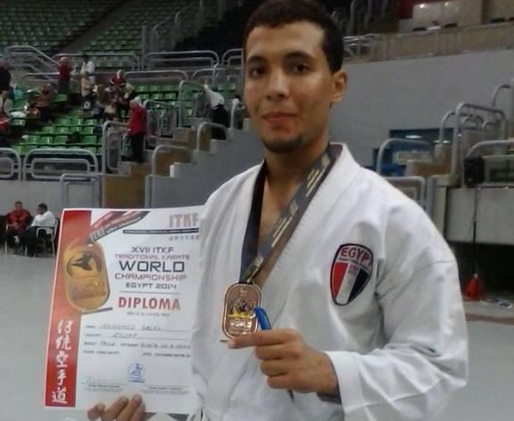 مبروك لجامعة بنها ولمصر الحصول على المركز الثالث في بطولة العالم السابعة عشر للكاراتية