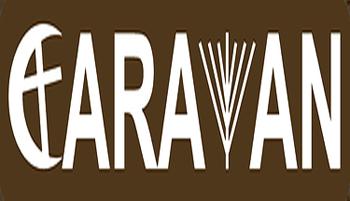 Caravan annonce pour la 7ème Exposition d'arts visuels de