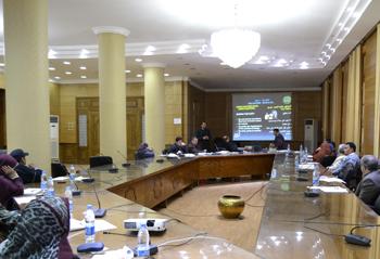 دورات تدريبية لمشروعات تطوير النظام الإداري بجامعة بنها لتأهيل والحصول على شهادة الأيزو 2008/9001