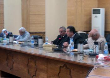 إجتماع مجلس شئون خدمة المجتمع وتنمية البيئة