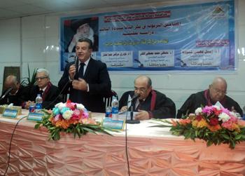 مصطفى الفقى فى جامعة بنها: العمليات الارهابية التى تستهدف مصر منظمة