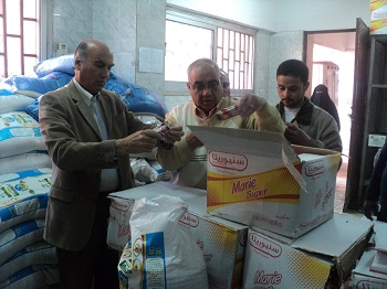 Prof. Dr. Soliman Mustafa inspects Restaurants and Food Stores of the University Hostels