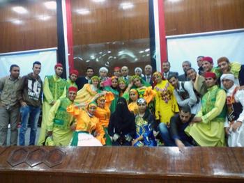 مشاركة جامعة بنها في مسابقة إبداع 3 على مستوى الجامعات المصريه