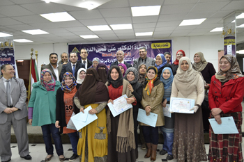 Prof. Dr. Gamal Ismail: Training Courses for the University Employees to develop Media