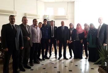 تكريم أوائل خريجي جامعة بنها دفعة 2014/2013