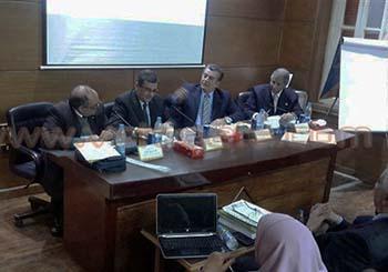جامعة بنها تناقش مشاريع الاعتماد والجودة