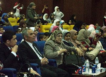 حفل يوم الخير للأطفال الأيتام والمسنين بجامعة بنها