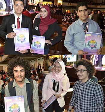 بالصور والأسماء: طلاب جامعة بنها  يحصدون 14 جائزة في مسابقة إبداع الشارقة الثقافية