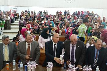 نائب شئون التعليم يشارك فى احتفالية يوم الطفل اليتم بكلية العلوم