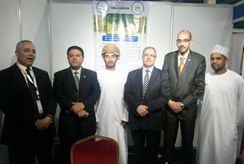 زيارة الملحق الثقافي المصري في عمان للوفد المصري المشارك في المعرض