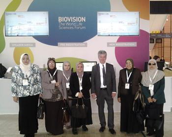 La visite d'une délégation de l'Université de Benha à la France
