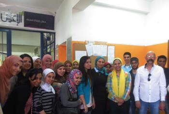 تبادل علمى طلابى بين قسم الإعلان بكلية الفنون التطبيقية جامعة حلوان وجامعة بنها