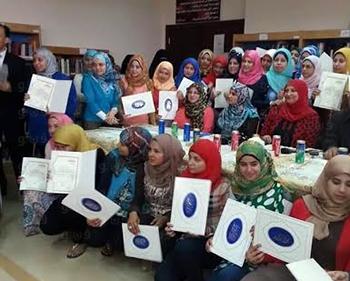 جامعة بنها تكرم 60 طالباً وطالبة بقسم المكتبات