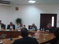 لجنه من المجلس الأعلى للجامعات في زيارة لكلية الهندسة بشبرا