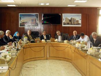 فاعليات المجلس التنفيذي لمركز ضمان الجودة والاعتماد بجامعة بنها
