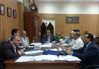 اللجنة العليا للتصنيف الدولي تستعرص خطة عمل تحسين ترتيب الجامعة بتصنيف QS