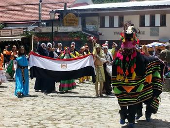 Events of Aiginio International Festival in Greece